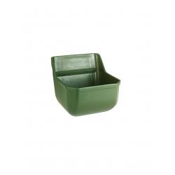 Karmidło plastikowe dla źrebiąt, bez prętów, oliwka