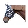 Maska chroniąca przed muchami Zebra z ochroną uszu