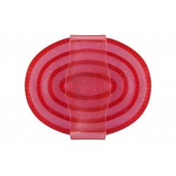Zgrzebło gumowe transparentne